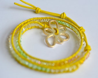 Chan Luu Yellow bracelet