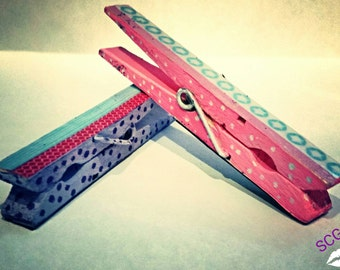 Clothespin Magnets (set of 2)