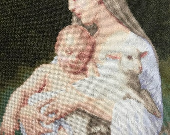 "William Bouguereau ""Innocence"" Cross stitch"