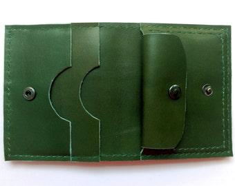 Handmade purple wallet