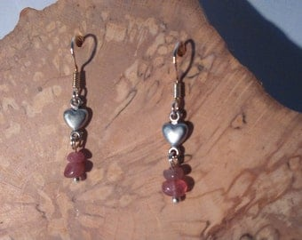 Romantic tourmaline earrings