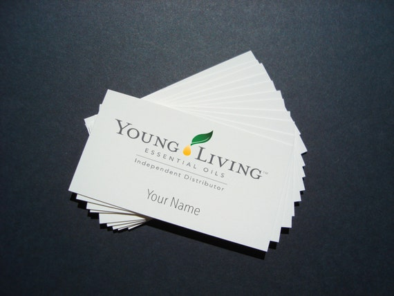 Young Living Business Card DIGITAL FILE