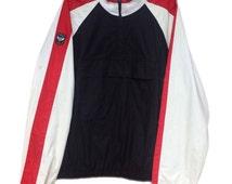 Vintage POLO RALPH LAUREN Prl Crest Pullover Jacket Sweater M/L