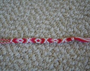 Pink Orange and White Baby Bracelet