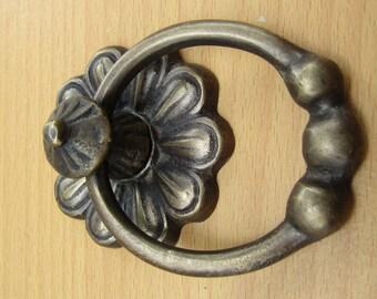 """3.0""""inc Vintage Brass - Neoclassical Door Knocker - Metal Door Decor - Front Door Knocker - Brass Door Knocker - Antique Door Knocker GBY83"""