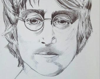 John Lennon Sketch