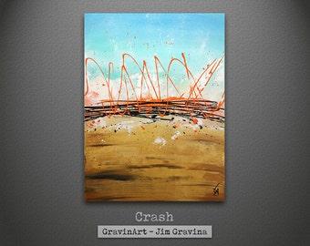 Original Abstract Painting by Jim Gravina