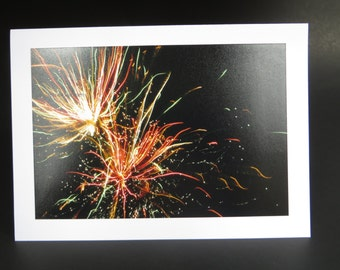 Photography card- Fireworks!