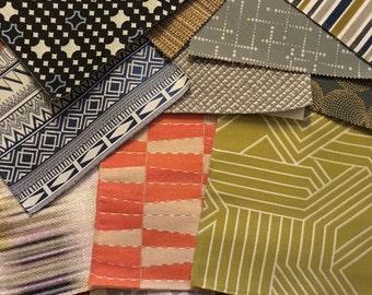 Designer Fabric Squares