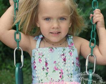 Girls Sundress - Toddler Sundress - Princess Penelope Pintuck Dress - Twirling Dress - Baby Dress - Boutique Dress - Custom Girls Dress