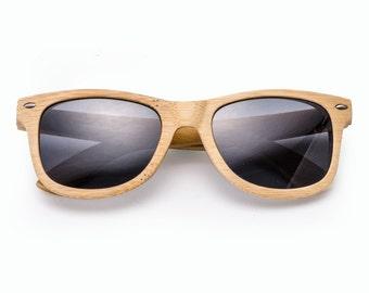Handmade Wooden Bamboo Wayfarers