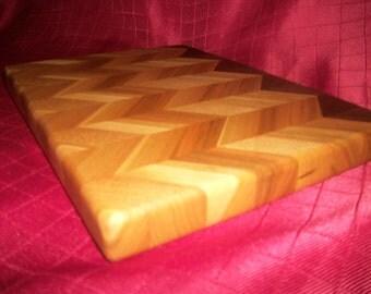 Chevron cutting board