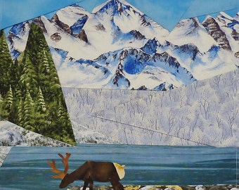 Mountain Lake quilt pattern - ON SALE