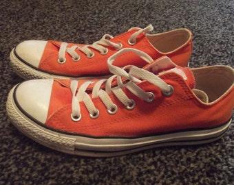 Converse All star, orange  M6/W8