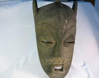 African tribal art mask-BIOMBO-DR CONGO