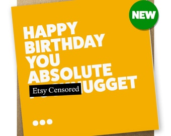Rude Birthday Card | F**kNugget
