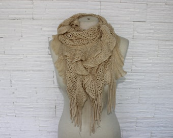 scarf, 4 colours, knit, warm and cozy for wintertime, for her, women