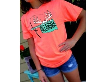 Neon Coral T-Shirt