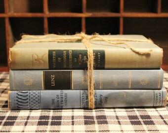 Set of 3 Vintage Hardback Books