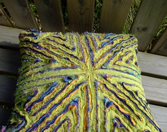Shaggy Fabric Cushion