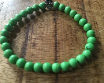 Happy Green Beads