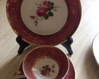 Bavaria Pink Dish Set