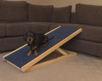 Dog Ramp - Pet Ramp - Portable Dog Ramp With Adjustable Heights!