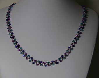 Handmade chainmail beaded chain
