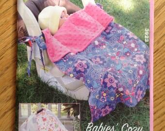 Kwik Sew 3923 Babies Cozy Cover Blankie