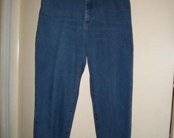 Women's Vintage L.L.Bean High Waist Jeans, Mom Jeans, Size 14R