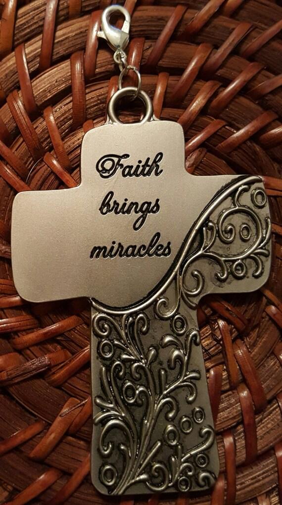 Pewter Cross Pendant / Removable Pendant / Heavy Metal Cross Pendant / Hanging Cross Pendant / Christian Pendant / Christian Jewelry/ PR6003