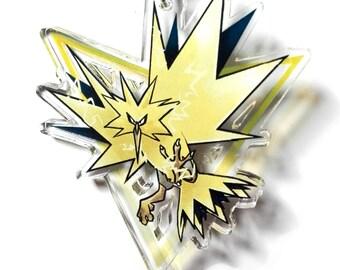 Pokémon GO Team Instinct charm