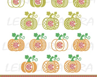 60 % OFF, Pumpkin Monogram SVG, Halloween Pumpkin SVG File, Pumpkin Pattern svg, png, eps, dxf, Halloween svg, Fall Patterned Pumpkins
