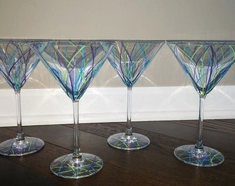 Painted Drinking Glasses
