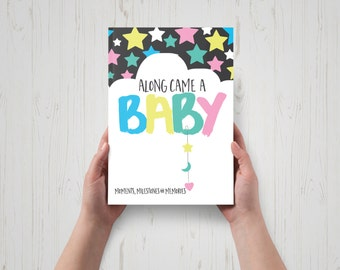 Along Came A Baby Milestone Book