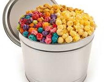 2 Gal Popcorn Gift Tin