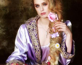 Rapunzel Peignoir