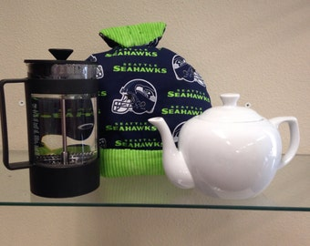 Seahawks Tea Cozy/Coffee Cozy w/Matching Potholder