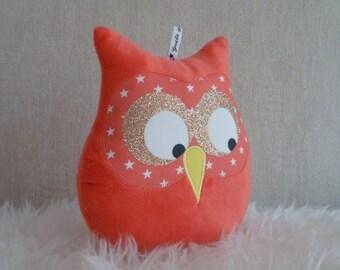 Coral musical OWL cushion