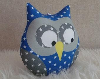 Starry blue roy musical OWL cushion