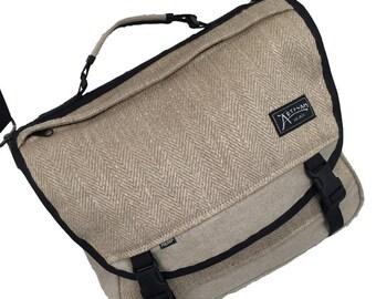 The Courier - Hemp Messenger Bag