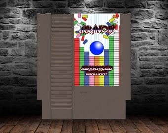 Arkanoid Advance Edition -  Enhanced Retro Block Puzzle Game - NES