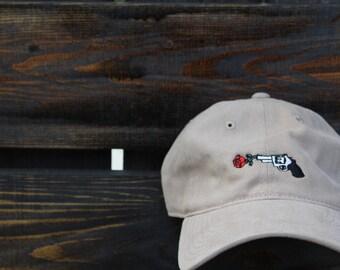 """Tan """"Choose Love"""" Dad Hat"""