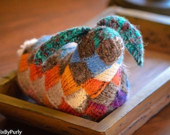 Bunny - Knit Rabbit - Hand Knit Animal