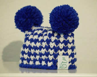 Knitted baby Beanie Jana -