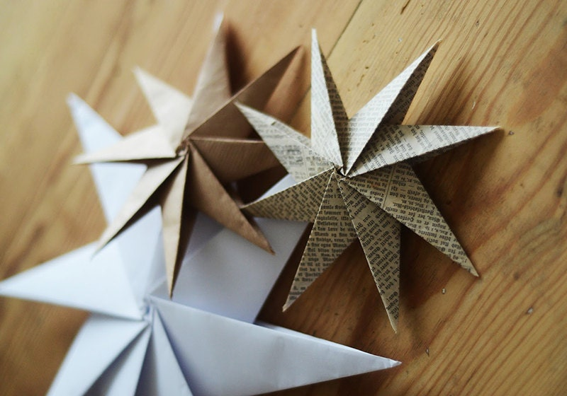 DIY Origami Stars by Home by Linn