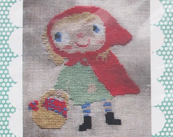 Little Red Riding Hood Cross Stitch Pattern by Heidi Kenney