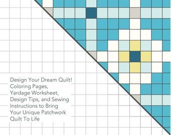 Complete Quilt Design Planner Easy Quilt Pattern Guide PDF