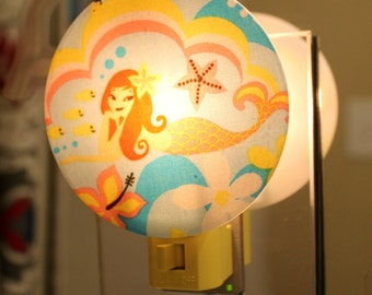 Tropical Mermaid Nightlight