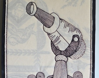 On Sale Sale, Cannon To Destroy Conformity, stitched drawing